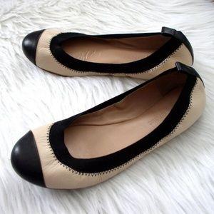 Banana Republic Aida Leather Ballet Flats Sz 7